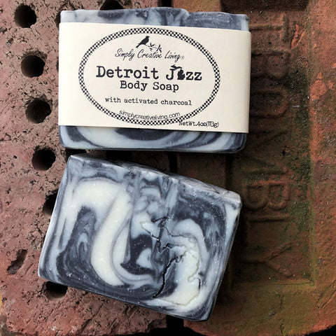 Michigan Detroit Jazz Body Soap Bar