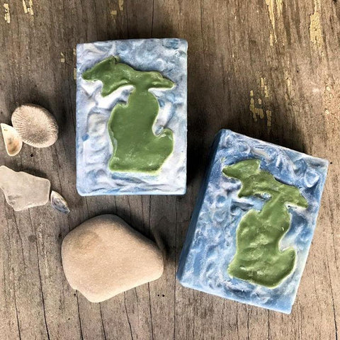 Michigan Water Wonderland Body Soap Bar