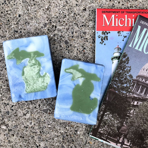 Michigan Wonderland State Soap Bar