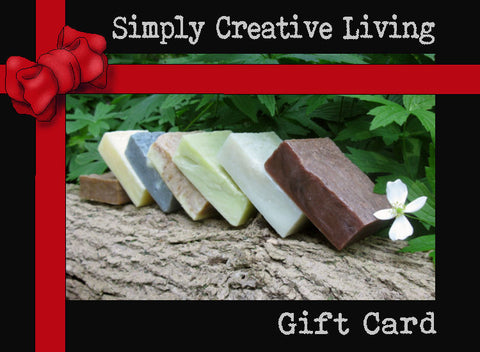 Simply Creative Living Gift Card.