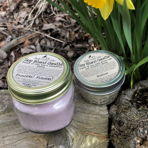 Soy Blend Candles 4 ounce 8 ounce