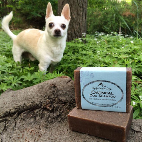 Unscented Dog Shampoo Bar