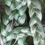 "Dried Organic Sweet Grass (Hierochloe Odorata) Braid - 1 oz. 18"" Long"