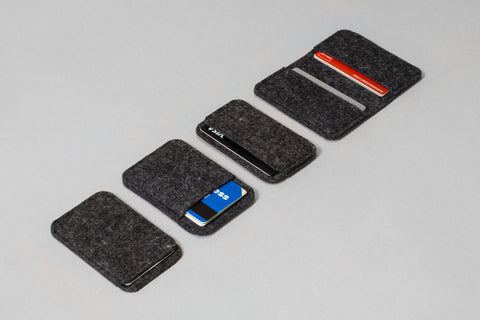 Merino Wool Felt Card Sleeves