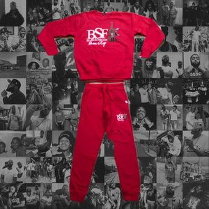 BSF SWEATSUIT: RED