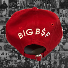 Load image into Gallery viewer, RED BSF CLASSIC LOGO DAD HAT