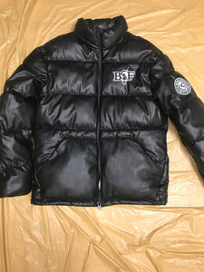 Black Leather Premium BSF Winter SwagCoat