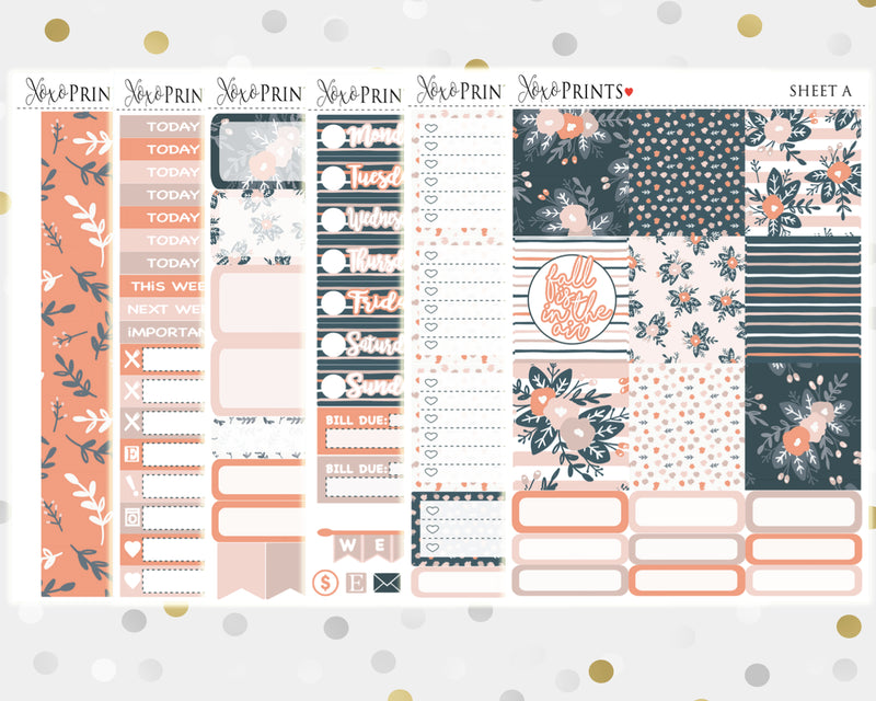 Fall Weekly Kit for the Horizontal Erin Condren Planner