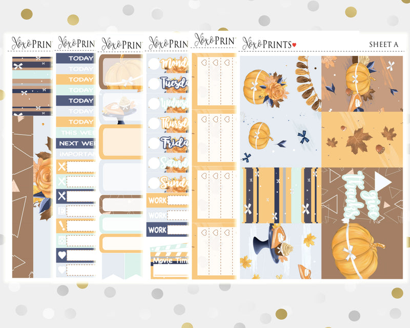 Give Thanks Weekly Kit for the Classic Happy Planner