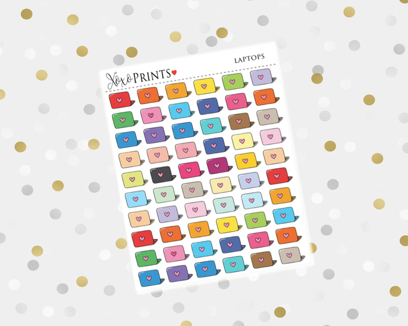 Travelers Notebook Icon Stickers for the Erin Condren Vertical, Horizontal or Happy Planner