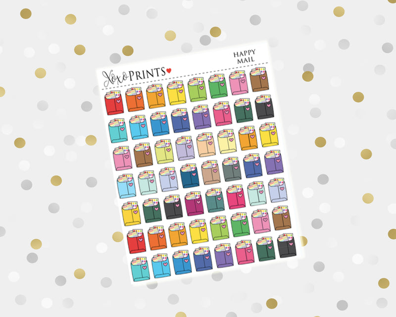 Teeth Icon Stickers for the Erin Condren Vertical, Horizontal or Happy Planner