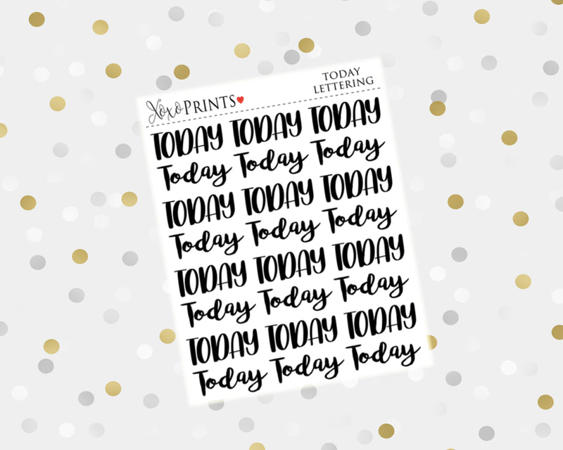 Bills Lettering Stickers for the Erin Condren Vertical, Horizontal, or Happy Planner