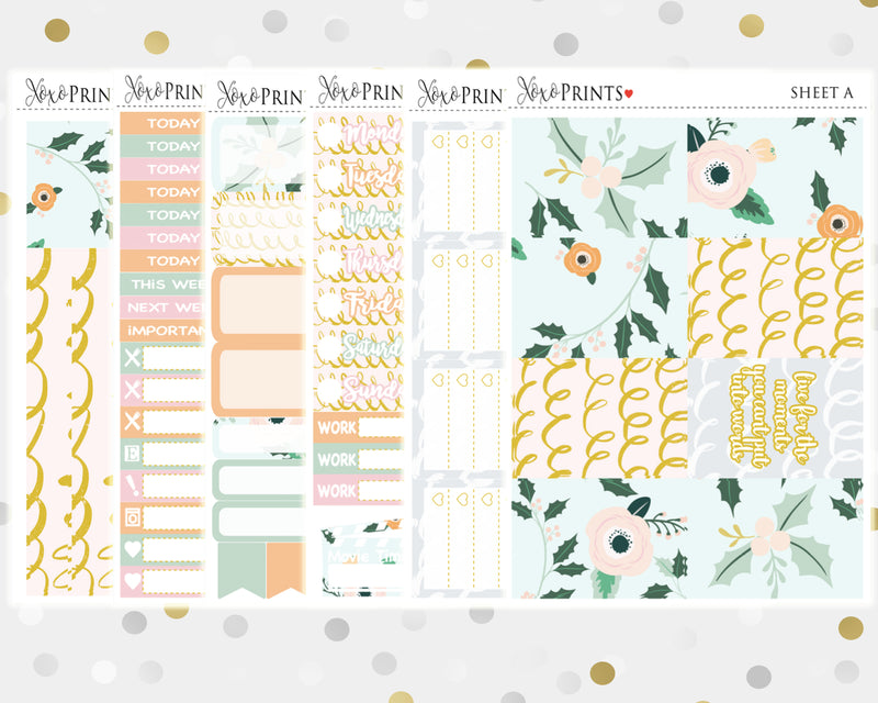 Woodland Weekly Kit for the Classic Happy Planner