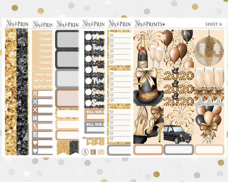 Coffee Weekly Kit for the Vertical Erin Condren Planner