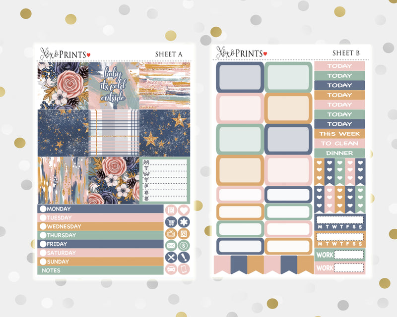 Woodland Weekly Kit for the Mini Happy Planner