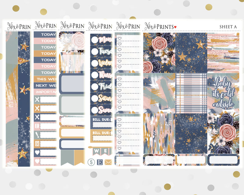 Woodland Weekly Kit for the Vertical Erin Condren Planner