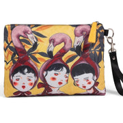 Flamingo-Large Clutch-Artist Collection
