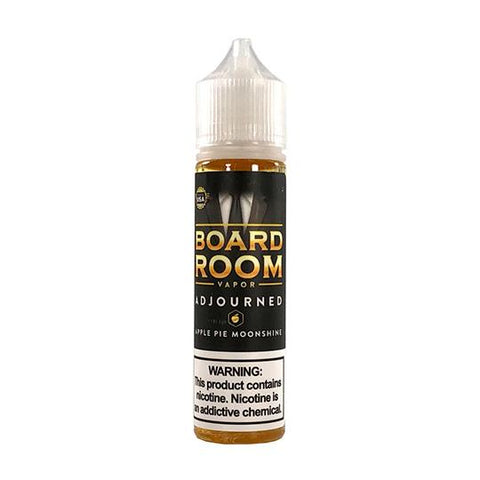 Adjourned (Apple Pie Moonshine) - Boardroom - Mr. Vape USA Retail