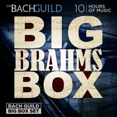 BIG BRAHMS BOX (10 HOUR DIGITAL DOWNLOADABLE BOXED SET)