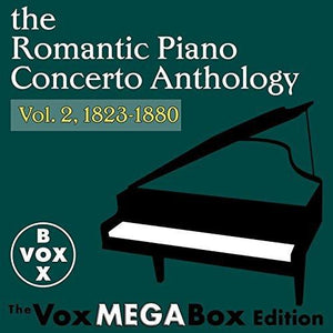 THE ROMANTIC PIANO CONCERTO ANTHOLOGY, VOLUME 2 (VoxBox Digital Download Boxed Set)
