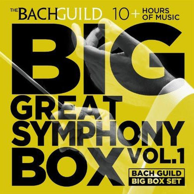 BIG GREAT SYMPHONIES BOX, VOLUME 1 (10 Hour Digital Boxed Set)