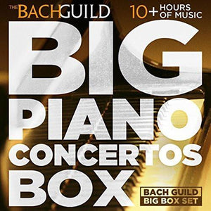 BIG PIANO CONCERTOS BOX (10 Hour Digital Boxed Set)