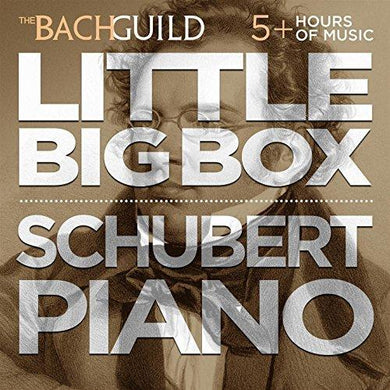 LITTLE BIG BOX OF SCHUBERT PIANO (5 HOUR DIGITAL DOWNLOADABLE BOXED SET)