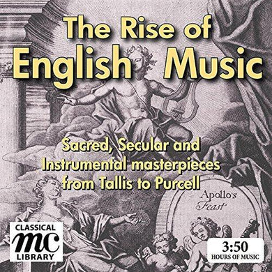 THE RISE OF ENGLISH MUSIC (4 Hour Downloadable Digital Boxed Set)