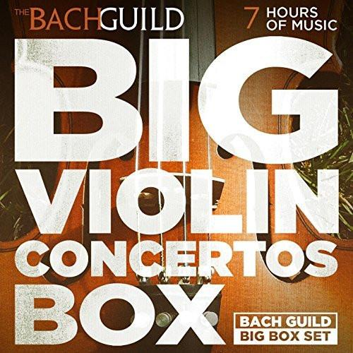 BIG VIOLIN CONCERTOS BOX (7 Hour Digital Boxed Set)