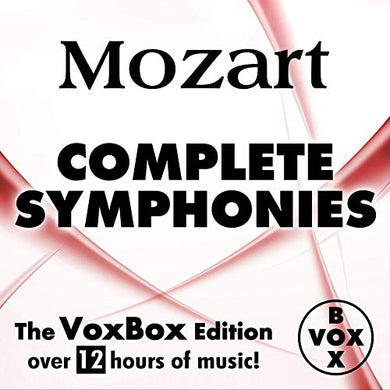 MOZART: COMPLETE SYMPHONIES - Gunter Kehr & Mainzer Kammerorchester (12 HOUR DIGITAL DOWNLOAD)