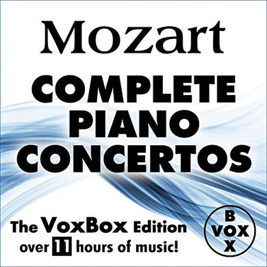 MOZART: THE COMPLETE PIANO CONCERTOS (11 HOUR DIGITAL DOWNLOAD)
