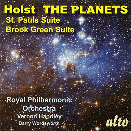HOLST: THE PLANETS; ST. PAUL'S SUITE; BROOK GREEN SUITE - ROYAL PHILHARMONIC ORCHESTRA, VERNON HANDLEY, BARRY WORDSWORTH (DIGITAL DOWNLOAD)