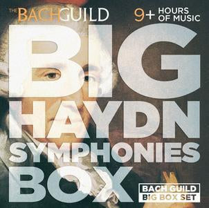 Big Haydn Symphonies Box (9 HOUR Digital Boxed Set)