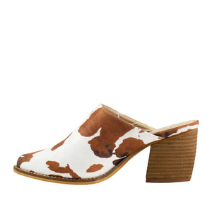 Sissy Cow White/Brown