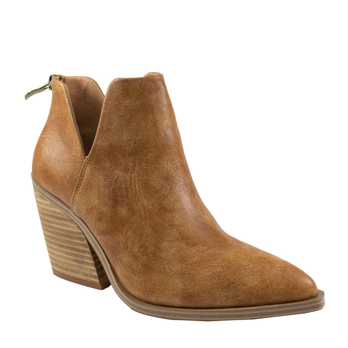 dean brown pu leather ankle boot