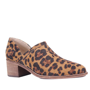 Clay Suede Leopard Print Camel - ARiderGirl