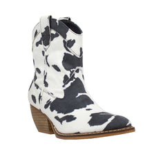 Load image into Gallery viewer, Dolce Cow White/Black