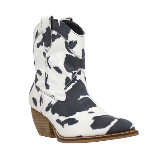 Dolce Cow White/Black - ARiderGirl