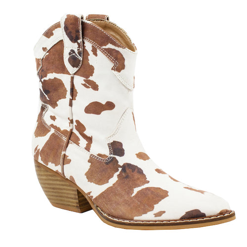 Dolce Cow White/Brown - ARiderGirl