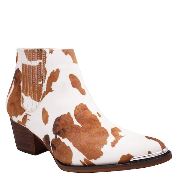 Dolly Cow White/Brown - ARiderGirl