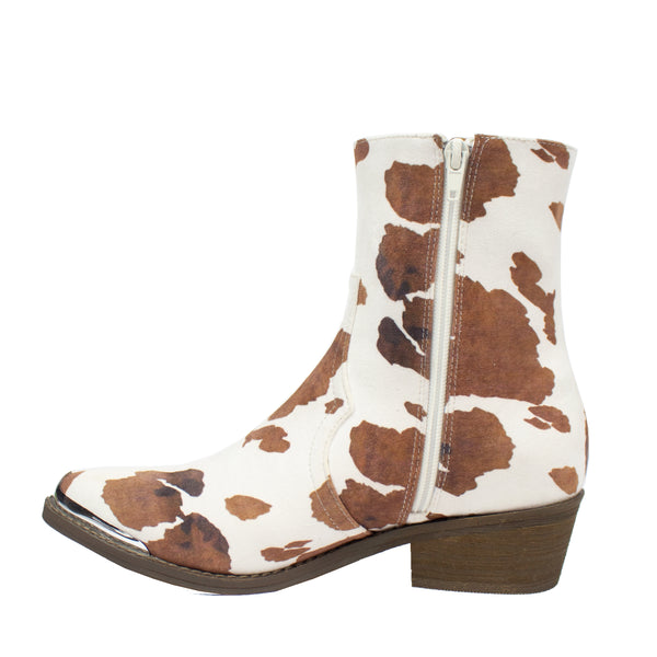 Eagle Cow White/Brown - ARiderGirl
