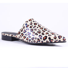 Load image into Gallery viewer, Mina Western Animal Print Mules - ARiderGirl