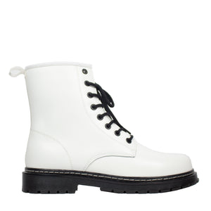 Demi Genuine Leather White