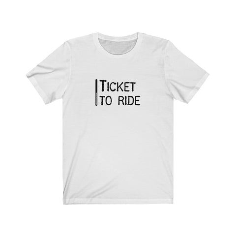 Ticket To Ride - Mens T - Light
