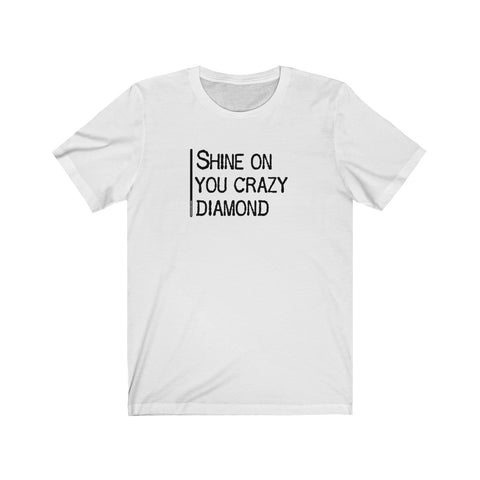 Shine On You Crazy Diamond - Mens T - Light