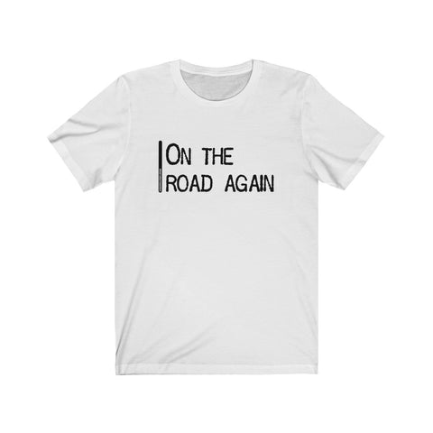 On The Road Again - Mens T - Light