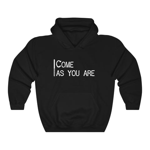 Come As You Are - Unisex Hooded Sweatshirt