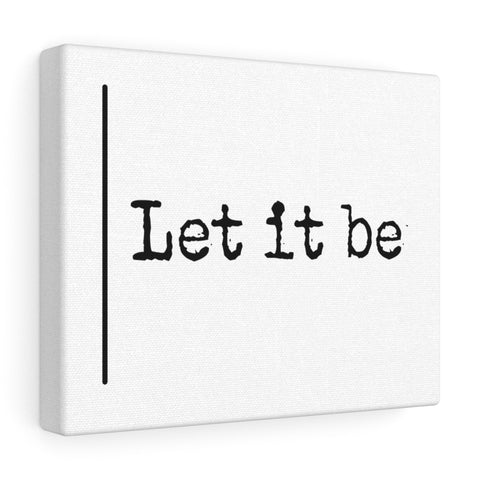 Let It Be  - Canvas
