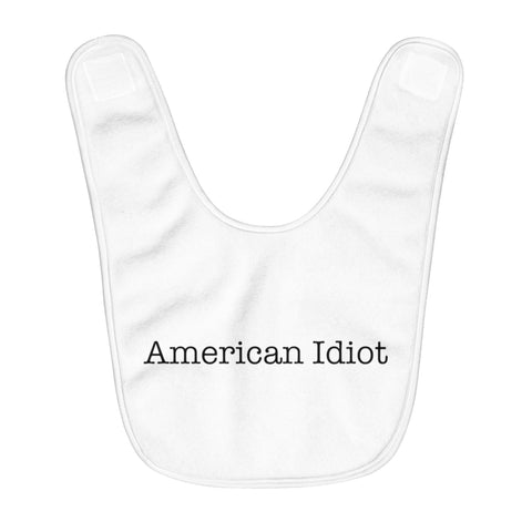 American Idiot - Fleece Baby Bib