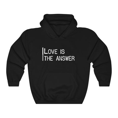 Love Is The Answer - Unisex Hooded Sweatshirt